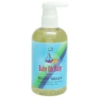 Rainbow Research baby body wash scented - 8 oz