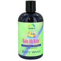 Rainbow Research Baby Oh Baby Colloidal Oatmeal Body Wash, Unscented - 12 oz