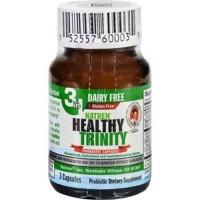 Natren healthy trinity probiotic capsules - 3 ea, 6 pack