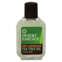 Desert Essence 100% pure Australian tea tree oil, 1 oz