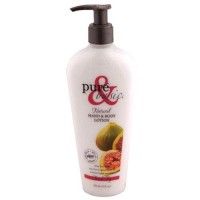 Pure and basic hand and body lotion, fresh fig - 12 oz