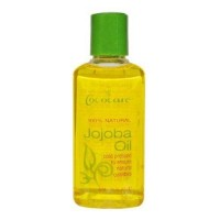 Cococare natural jojoba oil for skin and hair conditioning - 2 oz