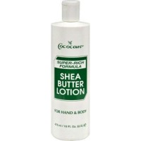 Cococare shea butter superrich formula lotion - 16 oz