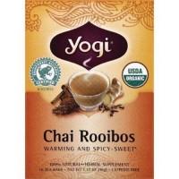 Yogi chai rooibos  tea - 16 ea