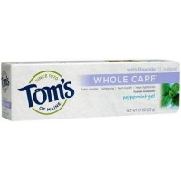 Toms of maine whole care peppermint gel fluoride toothpaste pack of 6 - 4.7 oz