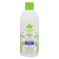 Natures gate replenishing shampoo lavender peony - 18 oz.