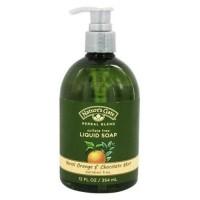Natures gate liquid soap organics herbal blend neroli orange chocolate mint - 12 oz.