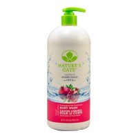 Natures gate pomegranate sunflower velvet moisture body wash - 32 oz