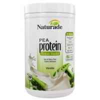 Naturade pea protein powder vanilla - 15.66 oz