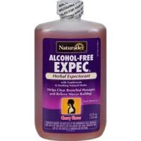 Naturade alcohol free herbal expectorant natural cherry flavor - 4.2 oz