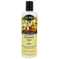 Shikai moisturizing shower gel vanilla - 12 oz.