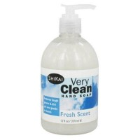 Shikai very clean liquid hand soap fresh scent - 12 oz.