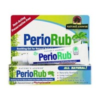 Nature's answer periobrite rub topical analgesic - 0.5 oz