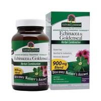 Natures answer echinacea - Goldenseal veg capsules - 60 ea
