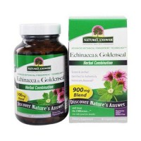 Natures answer echinacea - Goldenseal veg capsules - 90 ea