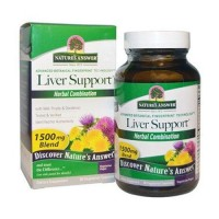 Natures answer liver support veg capsules - 90 ea