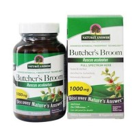 Natures answer butchers broom root - 90 ea