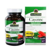 Natures answer cayenne pepper fruit - 90 ea