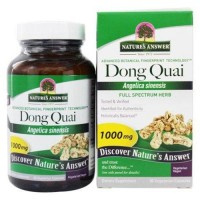 Natures answer dong quai root single herb supplement - 90 Vegetarian Capsules