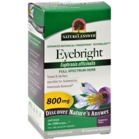 Natures answer eyebright herb 800mg vegetarian Capsules - 90 ea