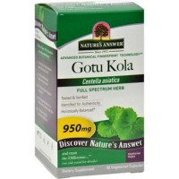 Natures answer gotu kola herb 950 mg - 90 caps