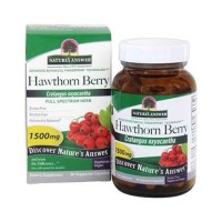 Natures answer hawthorn berry 500mg- 90 ea