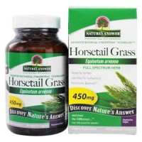 Natures answer horsetail grass single herb supplement 450mg  - 90 Capsules