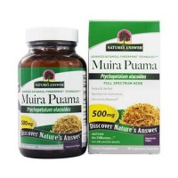 Natures answer muira puama bark 500mg - 90 ea