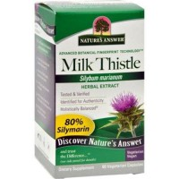 Natures answer milk thistle seed extract vegeterian capsules - 60