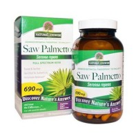 Natures answer saw palmetto berry extract veg capsules- 120 ea