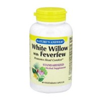 Natures answer white willow w feverfew standardized - 60 ea