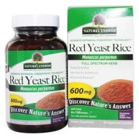 Natures answer red yeast rice dietary supplement 600mg- 90 Capsules
