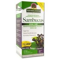 Natures Answer Sambucus Original Flavor Family Size - 16oz