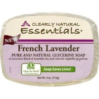 Clearly natural bar soap glycerine fr lav - 4 oz