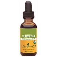 Herb pharm certified organic turmeric root extract - 1 oz