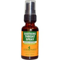 Soothing throat spray by herb pharm - 1 oz