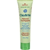 Zion health claybrite natural toothpaste  natural mint - 4 oz