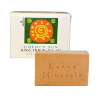 Zion Health ancient clay natural soap, Golden sun - 10.5 oz