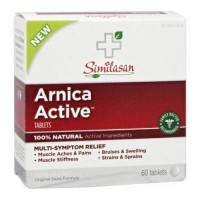 Similasan arnica active multisymptom relief tablets - 60 ea
