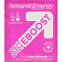 Eboost natural powder pink lemonade - 0.24 oz ,20 pack