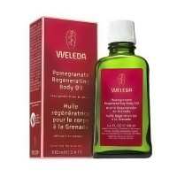 Weleda Regenerating Body Oil, Pomegranate - 3.4 oz