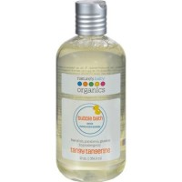 Natures baby organics bubble bath tangy tangerine - 12 oz