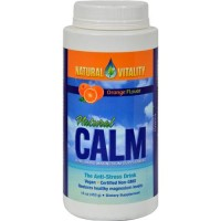 Natural calm anti stress drink orange flavor - 16 oz