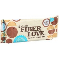 Nugo nutrition bar fiber dlish coconut macaroon bars - 1.6 Oz, 16 pack