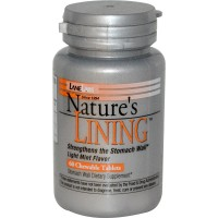 Lane labs natures lining light mint flavor chewable tablets - 60 ea