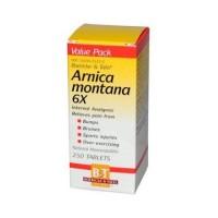 Boericke and tafel arnica montana 6x tablets - 250 ea