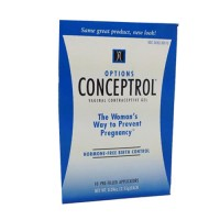 Conceptrol contraceptive unscented  gel  pre-filled applicators - 10