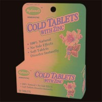 Cold tablets with zinc - 50 ea