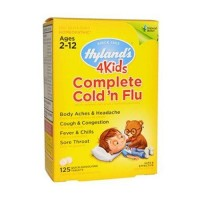 Hylands complete flu care 4 kids - 125 ea