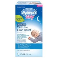Hylands baby nighttime mucus cold reli - 1 ea,4 oz